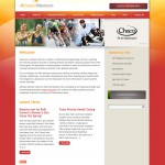 Athletic Mentors Website Design by The Imagination Factory