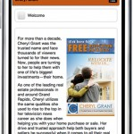 Mobile version of CherylGrant.com