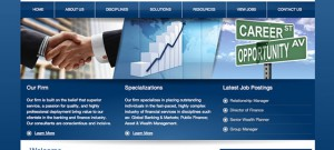 Website Design and Development for Anderson Search Group by The Imagination Factory