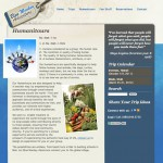 Website Design and Development for Blue Monkey Adventure by The Imagination Factory