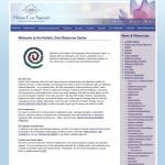 Website Design and Development for Holistic Care Approach by The Imagination Factory