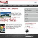 Website Design and Development for Kawasaki USA by The Imagination Factory