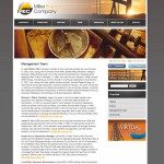 Website Design for Miller Energy Company by the Imagination Factory