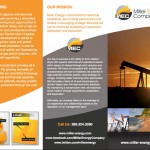 Print Design for Miller Energy Company by The Imagination Factory