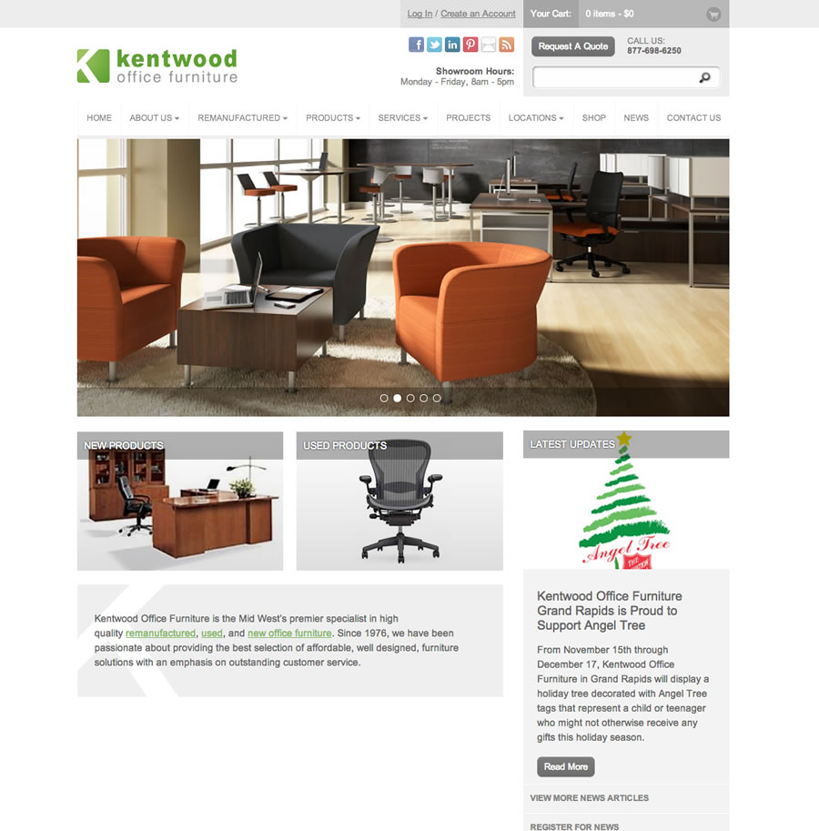 Kentwood Office Furniture - Web Design & Graphic Design in Grand ...